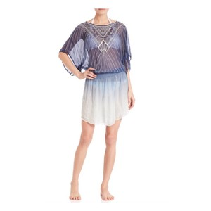 Parker Beach short dress Marina ombré blue on Tradesy