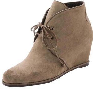 Stuart Weitzman taupe/natural Boots