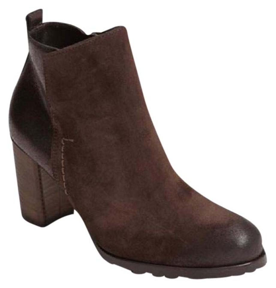 0dda1a899 Paul Green Metallic Brown Suede Leather Rockin Ankle Boots/Booties ...