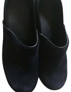 Sanita Navy Blue Mules