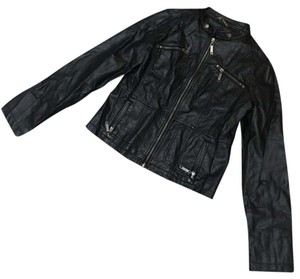 Jou Jou black Leather Jacket