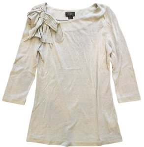 Anthropologie Top Silver