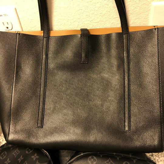 Tiffany & Co. Tote in Black & tan