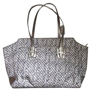 Coach Tote in Gunmetal