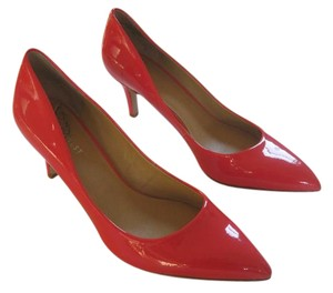 Nine West Lacquer Hot Elise Pointy red Pumps