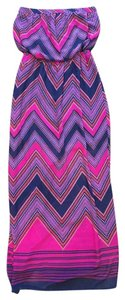 Purple/Fuschia Maxi Dress by Express