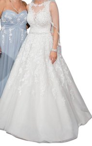 Sophia Tolli Sophia Tolli Y21520 - Carson Size 4 Wedding Dress Wedding Dress