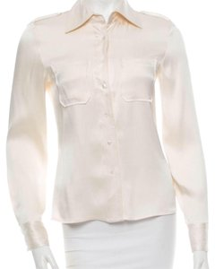 Tory Burch Button Down Shirt Cream