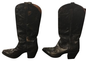 Dan Post Boots Healed Leatner Brown Boots