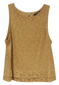 Banana Republic Top Copper, Gold, Tan