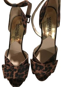 Michael Kors Cheetah Natural Platforms