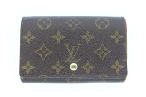 Louis Vuitton Louis Vuitton Monogram Porte Monnaie Billets Tresor Wallet M61730