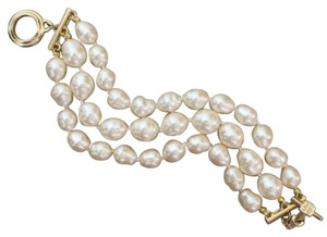 Givenchy Baroque Pearl Faux Bracelet