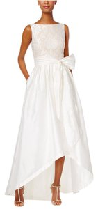 Adrianna Papell Hi Lo Gown Dress