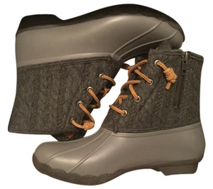 Sperry Black and gray Boots