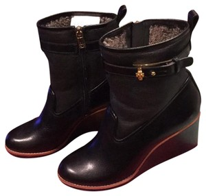 Tory Burch Black Melange Boots