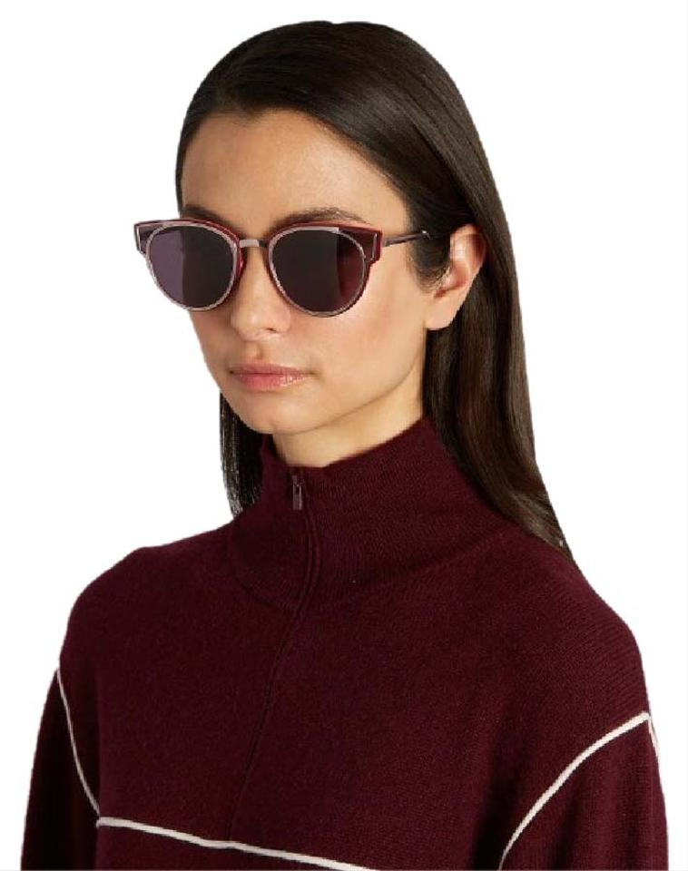 238b1d88400 Dior NEW Dior Sculpt Cat Eye Wired Lilac Red Sunglasses Image 0 ...