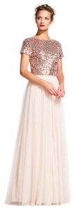Adrianna Papell Gown Two Piece Dress