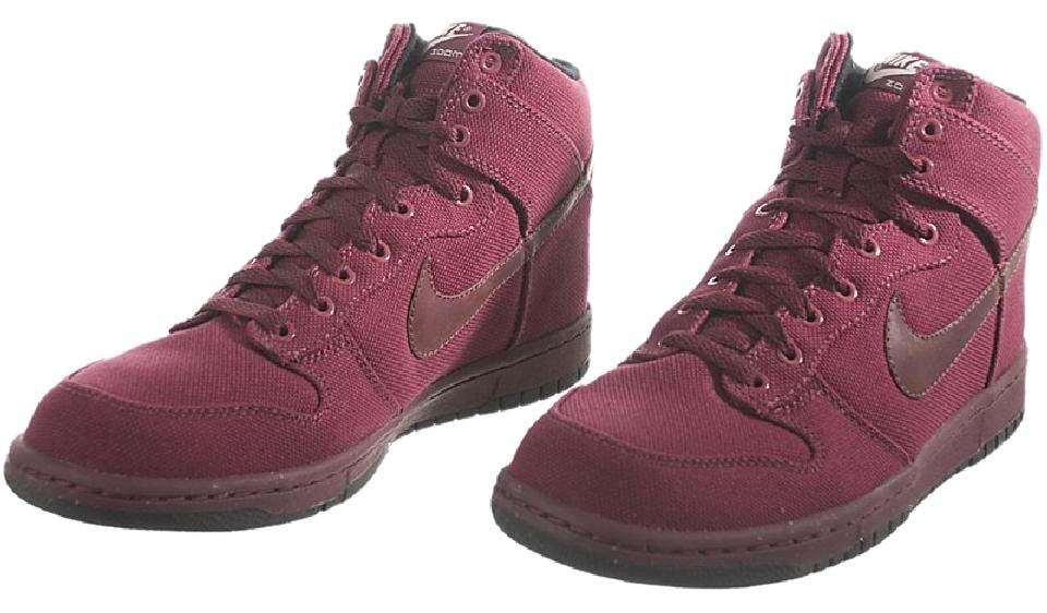 big sale 3bc57 58da1 Nike Dark Plum High Premium Sneakers
