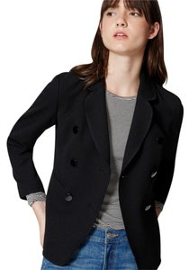 Ann Taylor LOFT Double-breasted Black Blazer