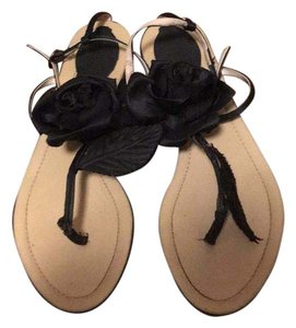 Milk Cocoa Black Flats