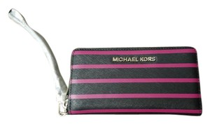 Michael Kors Jet Set Travel Stripe Wallet