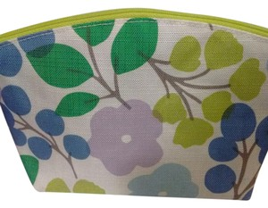 Clinique New Floral Canvas Cosmetic Bag