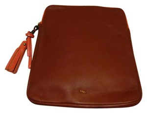 Chloé CHLOE LEATHER IPAD POUCH BAG CASE COVER *ZIP AROUND* NWOT