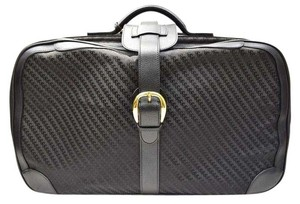 Gucci Suitcase Luggage Italy Black Travel Bag