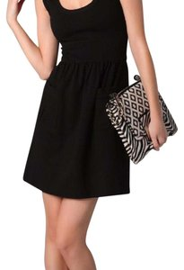Diane von Furstenberg short dress Black Cezanne Dvf Work Cocktail on Tradesy
