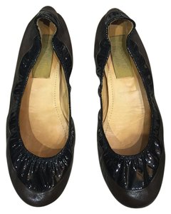 Lanvin black and brown Flats