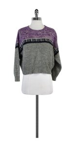 Isabel Marant Grey Purple Navy Sweater