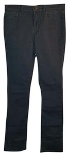 DKNY Winter Denim Designer Nasty Gay Abstract Unique Army Skinny Jeans-Dark Rinse