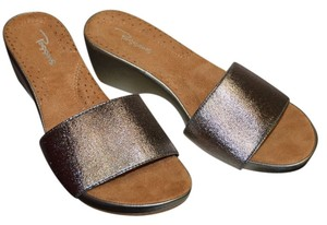 Other Wedge Comfortable Pewter Sandals