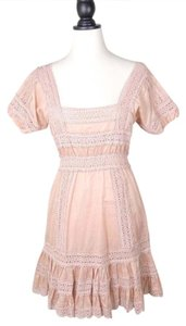 Victoria's Secret Crochet Lace Tiered Dress