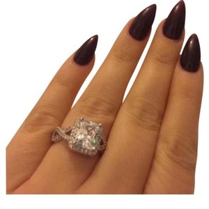 Beautiful Square Engagement Ring