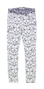 7 For All Mankind Floral Skinny Jeans