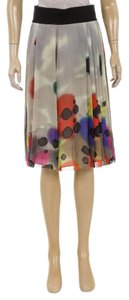 Catherine Malandrino Skirt Taupe/Multicolor