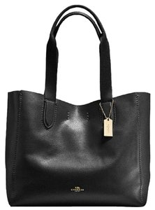Coach Leather F58660 Tote in Black