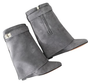 Givenchy Gray Boots
