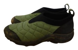 Merrell Slip On Hiking Comfortable Green Athletic