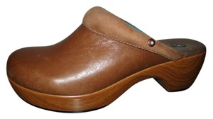 Juil Leather tan Mules