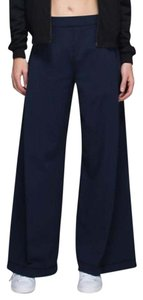 Lululemon Wide Leg Pants Navy Blue