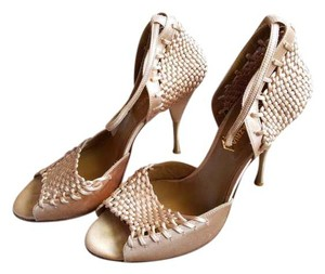 BCBGMAXAZRIA Ankle Strap Wedding Elegant Bcbg champagne Formal