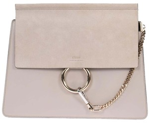 Chlo Chloe Faye Smooth Shoulder Bag