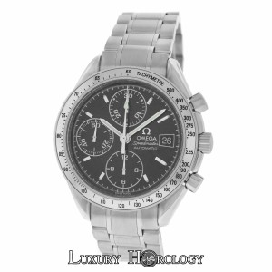 Omega Mint Men's Omega Speedmaster 3513.50 Chronograph Date Steel Automatic