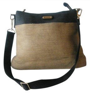 Eric Javits Woven Straw Detachable Strap Hobo Bag
