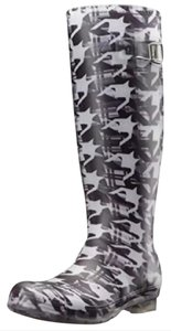 Kamik Black & White Boots