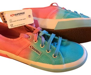 Superga blue & pink Athletic