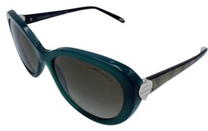 Tiffany & Co. Classic Heart Green Oval Sunglasses w/ Gradient Lens TF 4113 8195/3M